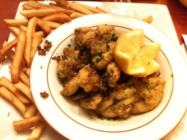 Frog Legs at Café de la Table Ronde