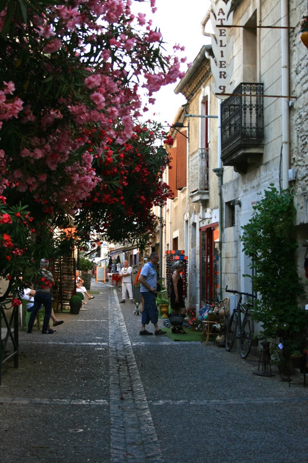 Street of Aigues-Mortes