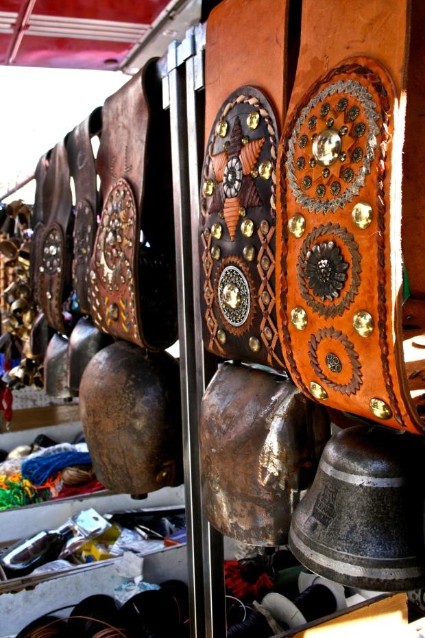 Cowbells at the Aosta Market