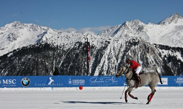 Snow Polo Warm-Ups